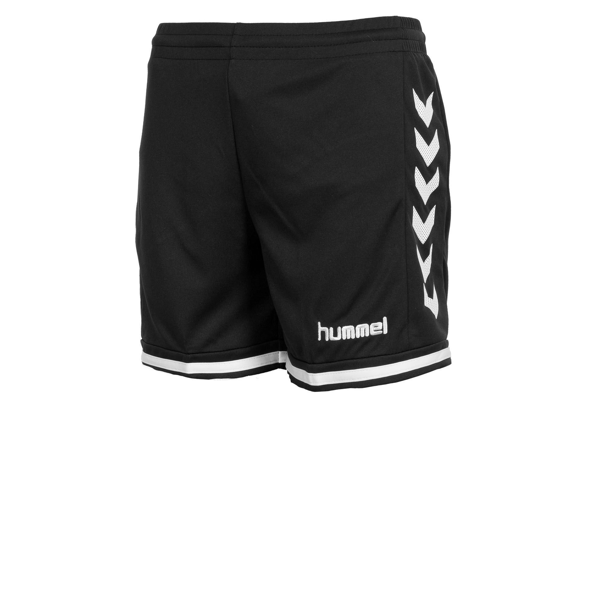 Hummel Lyon Indoor short Ladies zwartwit Broekjes