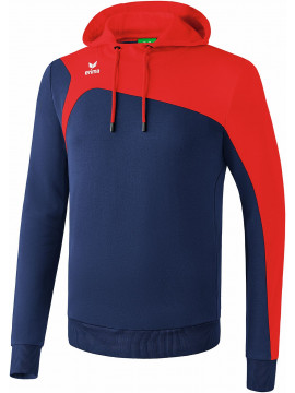Erima Club 1900 2.0 Sweatshirt met capuchon new navy/rood