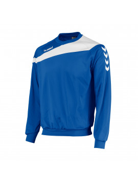 Hummel Elite Round Neck blauw/wit