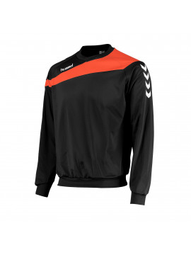 Hummel Elite Top Round Neck zwart/oranje