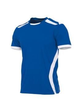 Hummel Club shirt unisex k.m. kobalt/wit