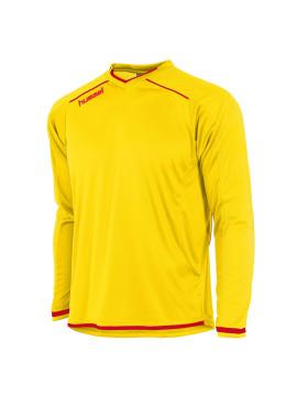 Hummel Leeds Shirt unisex l.m. geel/rood