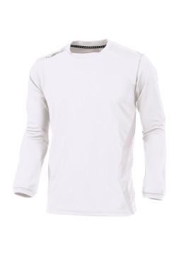 Hummel club Shirt l.m. wit