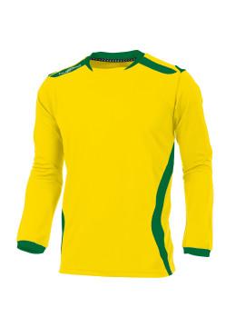 Hummel Club Shirt unisex l.m. geel/groen