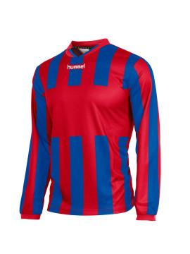 Hummel Madrid Shirt unisex l.m. rood/kobalt