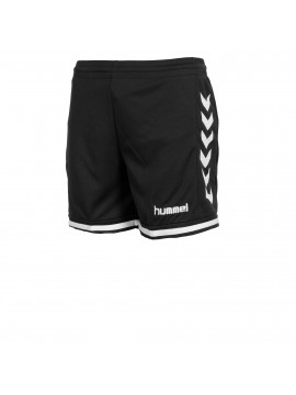 Hummel Lyon Indoor short Ladies zwart/wit