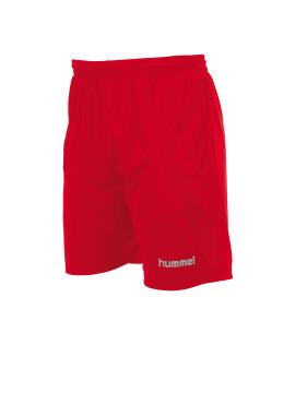 Hummel Manchester Short met binnenbroek rood