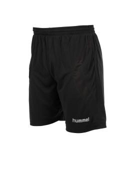 Hummel Manchester Short met binnenbroek zwart