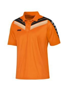 jako_6340_fluo oranje/zwart/wit