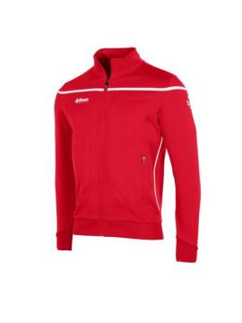 Reece Varsity TTS jacket Full Zipp unisex red/white