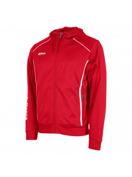 Reece Core TTS Hooded Sweat Full Zip unisex red