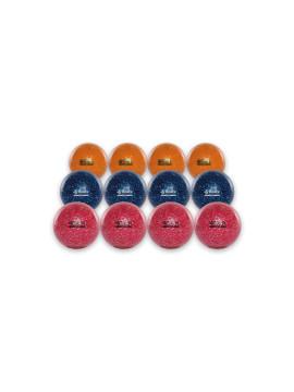 Reece Hockey Balls Glitter pink/royal/oranje