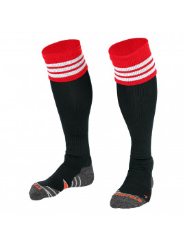Stanno Ring Sock black/red/white